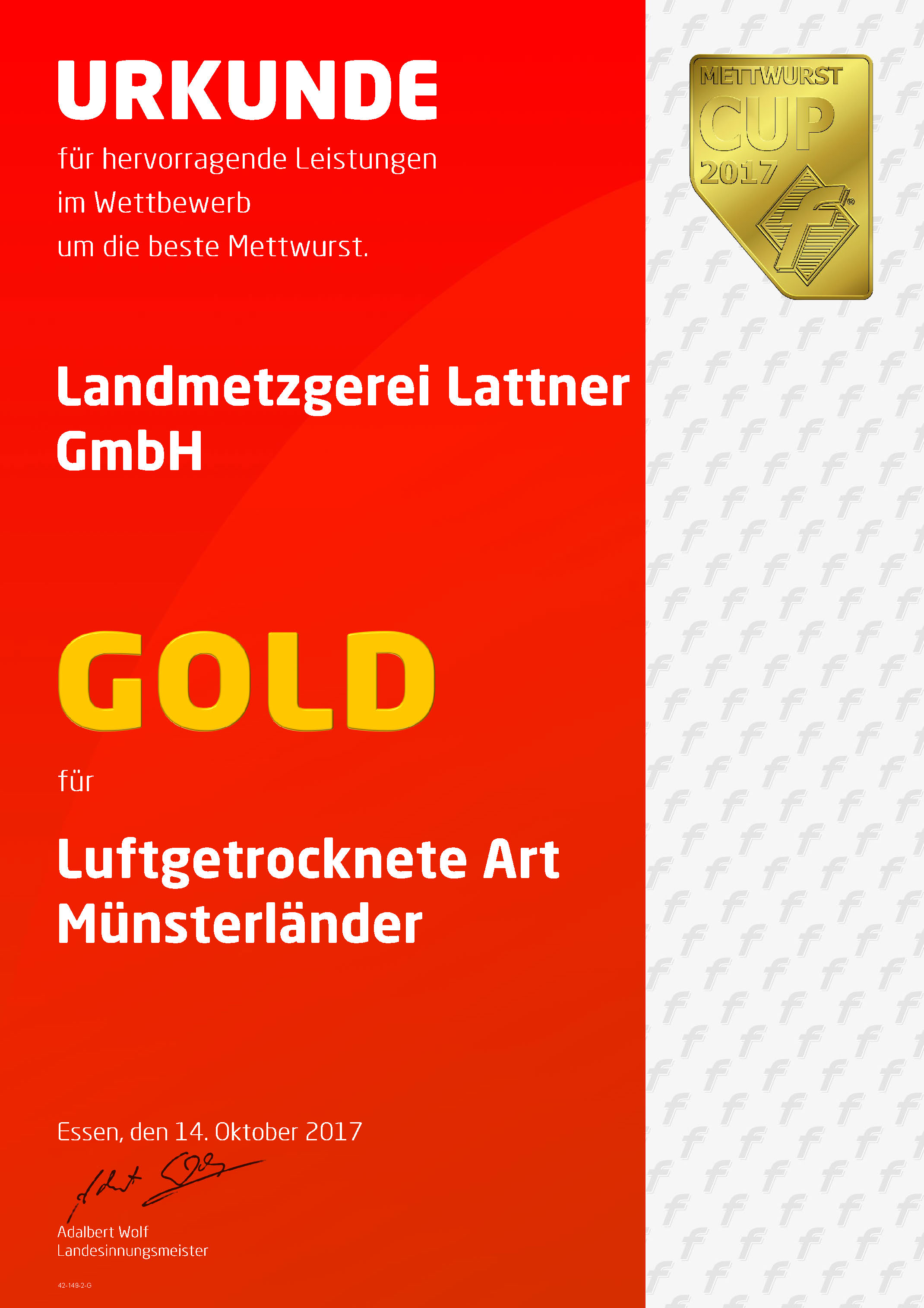 Gold Muensterlaender